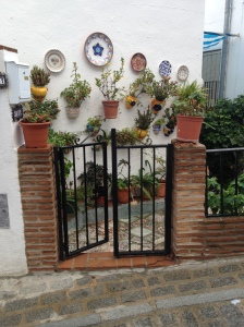 An open entrance in Mijas Pueblo