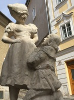 This statue in Krems is called