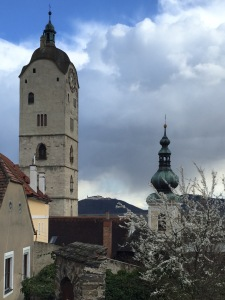 Bell tower in Krems Stein