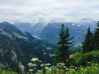 A beautiful view of the Alps in Bavaria from Eagle's Nest