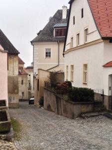 A typical Krems street