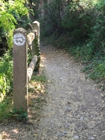 A Wachau Vally trail marker