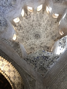 Ceiling at Sultan's Entrance