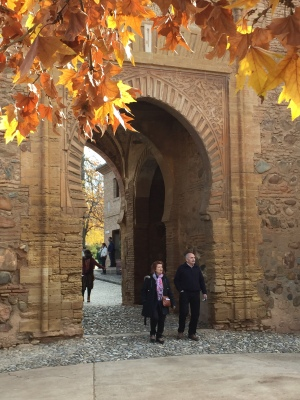 Entrance to Alcazaba Fortress