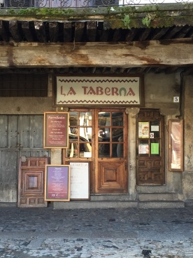 A tavern in La Alberca