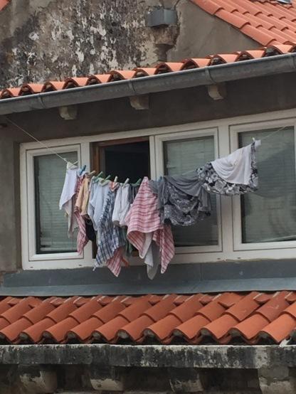 Wash Hanging