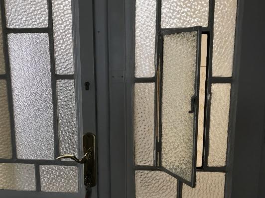 Window in Front Door