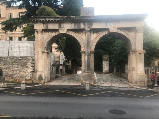 Double Arch Entrance