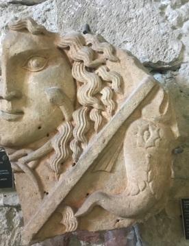 Medusa and dolphins, 1st Century