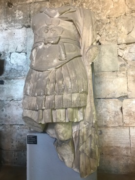 Emperor in Armor Torso. 3rd century