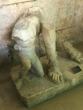 Roman holding Slave, 2nd century