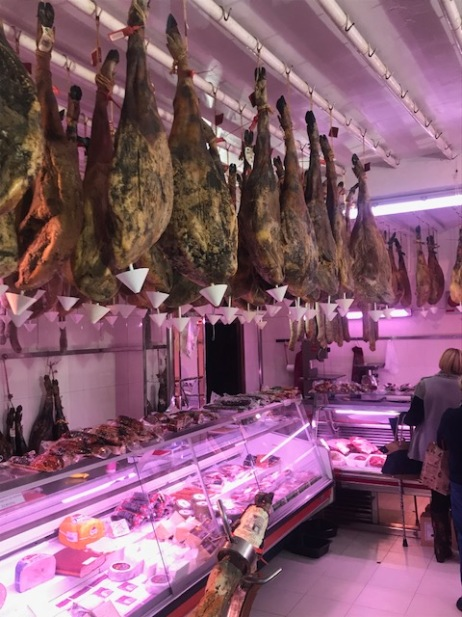 Hams from Ceiling