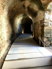 Theater underground walk