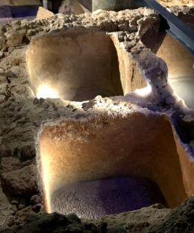 Roman salt vats