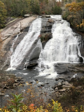 """High Falls"" in DuPont Forest"